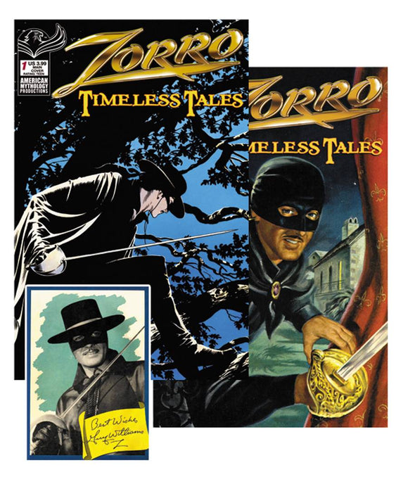 ZORRO TIMELESS TALES READER PACK - AMERICAN MYTHOLOGY PRODUCTIONS - Black Cape Comic