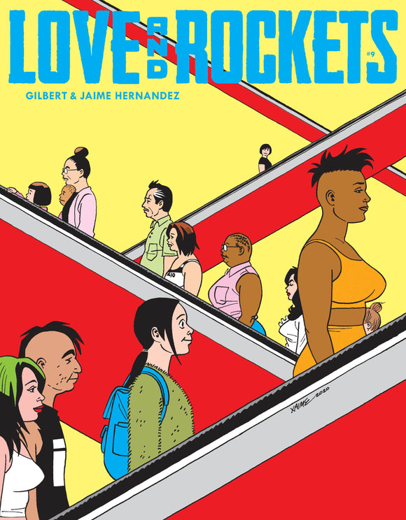 LOVE & ROCKETS MAGAZINE #9 (MR) (C: 0-1-2) - FANTAGRAPHICS BOOKS - Black Cape Comic
