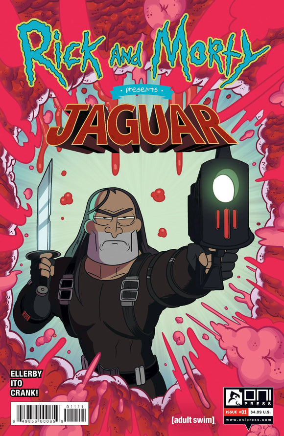 RICK AND MORTY PRESENTS JAGUAR #1 CVR A ELLERBY - ONI PRESS INC. - Black Cape Comic