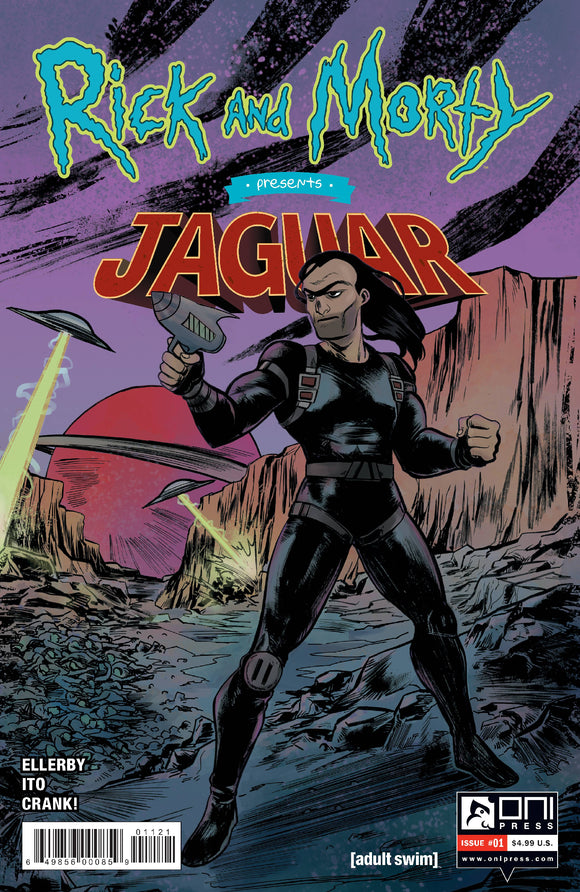RICK AND MORTY PRESENTS JAGUAR #1 CVR B LEE - ONI PRESS INC. - Black Cape Comic