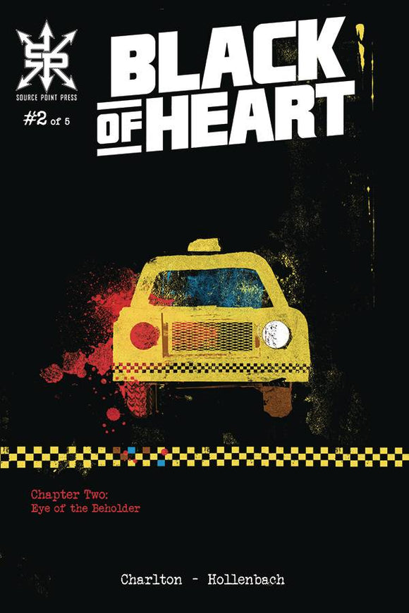 BLACK OF HEART #2 (OF 5) (MR) - SOURCE POINT PRESS - Black Cape Comic