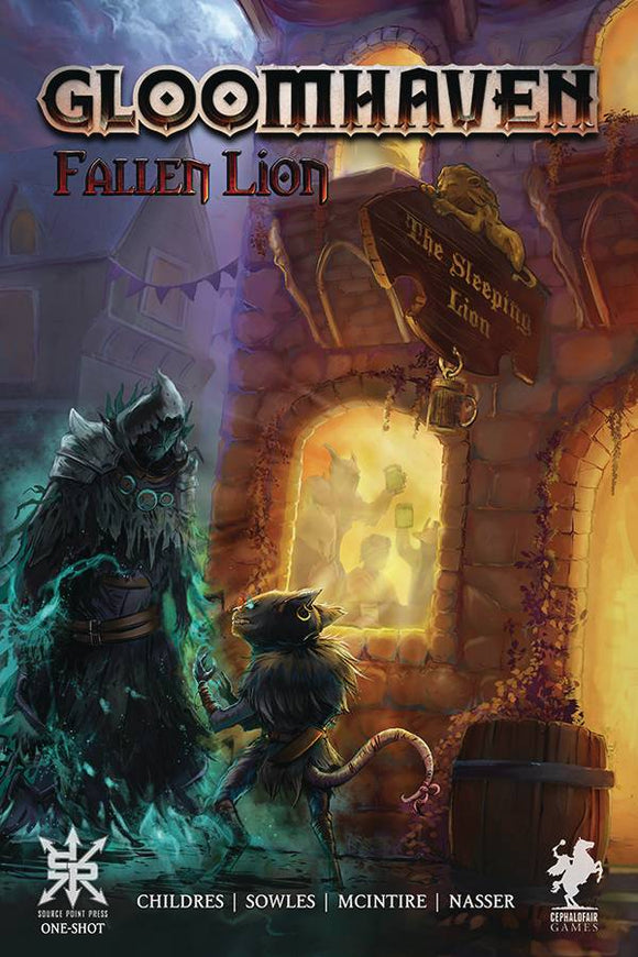 GLOOMHAVEN FALLEN LION ONESHOT (MR) - SOURCE POINT PRESS - Black Cape Comic