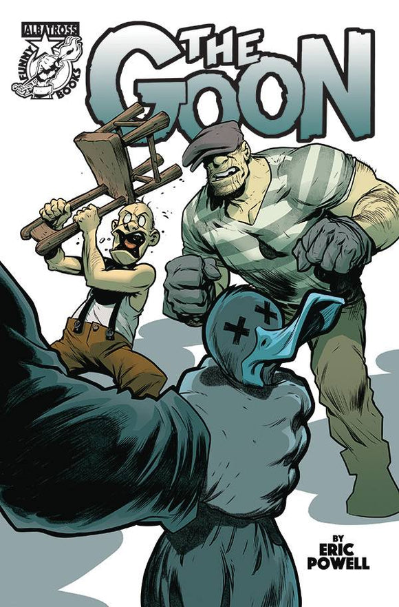 GOON #14 CVR A POWELL - ALBATROSS FUNNYBOOKS - Black Cape Comic