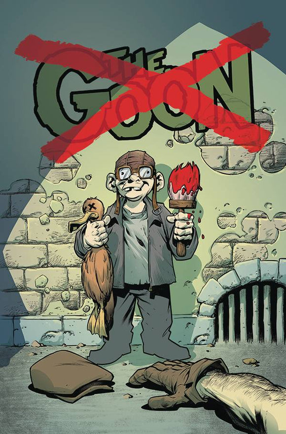 GOON #14 CVR B CARDSTOCK POWELL - ALBATROSS FUNNYBOOKS - Black Cape Comic