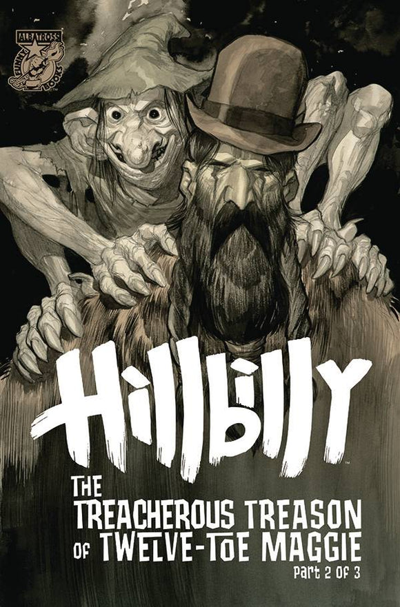 HILLBILLY TREACHEROUS TREASON 12 TOE MAGGIE #2 (OF 3) CVR A - ALBATROSS FUNNYBOOKS - Black Cape Comic