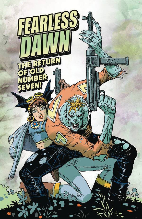FEARLESS DAWN RETURN OF OLD NUMBER SEVEN ONE SHOT - ALBATROSS FUNNYBOOKS - Black Cape Comic