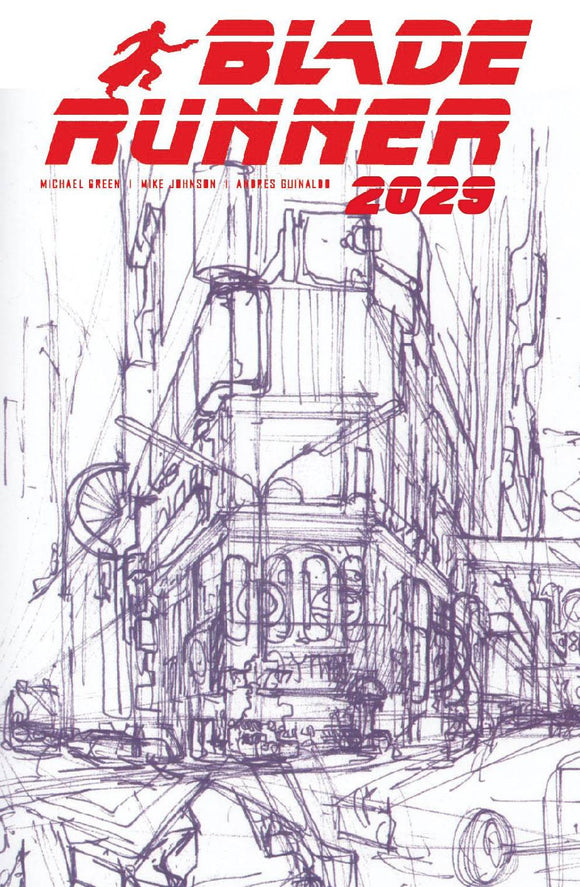 BLADE RUNNER 2029 #1 CVR B MEAD - TITAN COMICS - Black Cape Comic