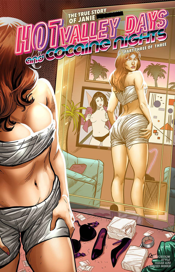HOT VALLEY DAYS & COCAINE NIGHTS #3 (OF 3) (MR) - ANTARCTIC PRESS - Black Cape Comic