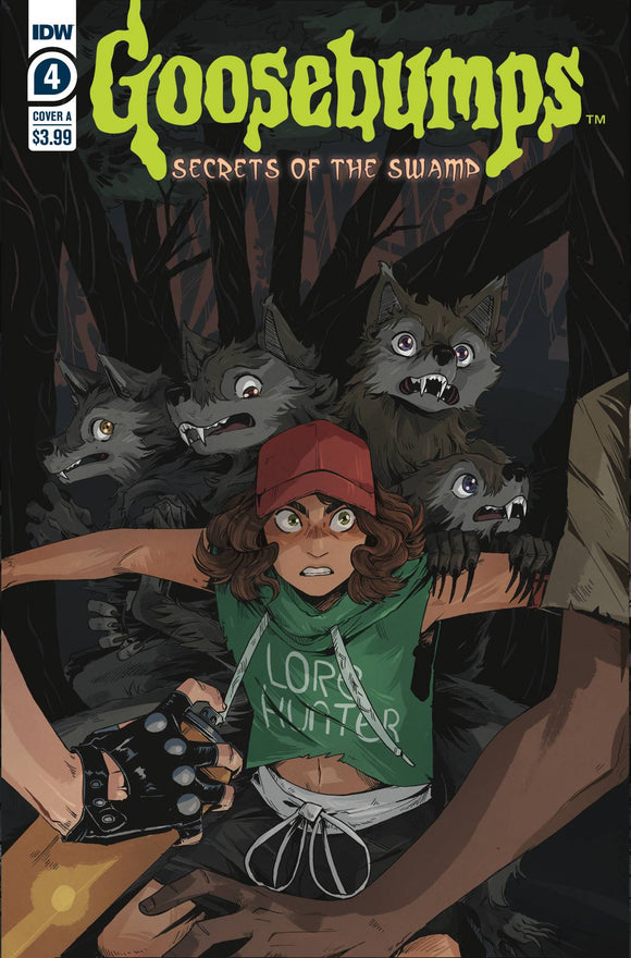 GOOSEBUMPS SECRET OF THE SWAMP #4 (OF 5) - IDW PUBLISHING - Black Cape Comic