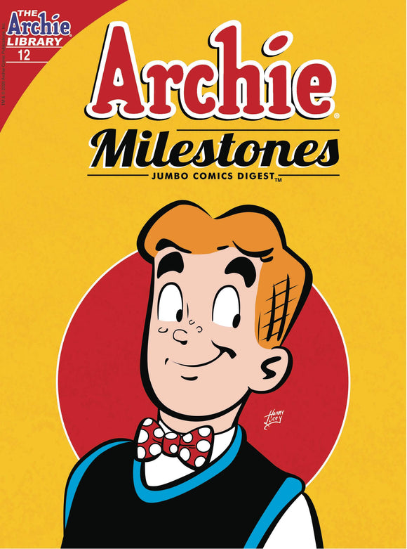 ARCHIE MILESTONES JUMBO DIGEST #12 (OF 12) - ARCHIE COMIC PUBLICATIONS - Black Cape Comic