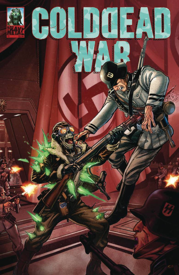 COLD DEAD WAR #3 (OF 4) (MR) - HEAVY METAL MAGAZINE - Black Cape Comic