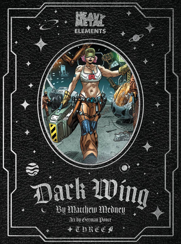 DARK WING #3 (OF 10) - HEAVY METAL MAGAZINE - Black Cape Comic