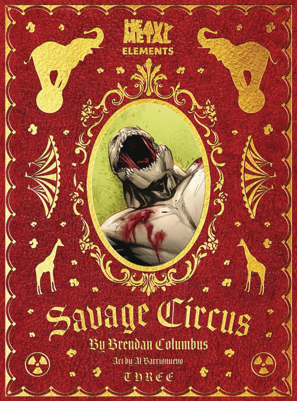 SAVAGE CIRCUS #3 (OF 10) (MR) - HEAVY METAL MAGAZINE - Black Cape Comic