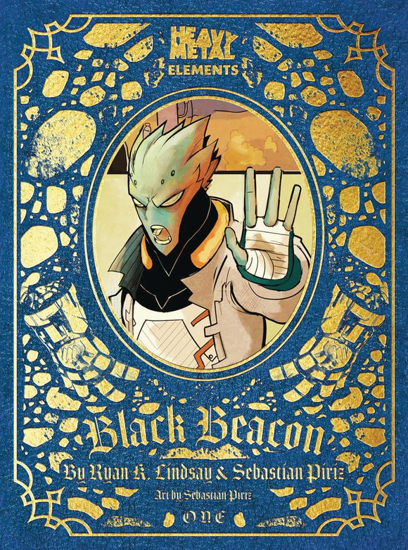BLACK BEACON #1 (OF 6) - HEAVY METAL MAGAZINE - Black Cape Comic