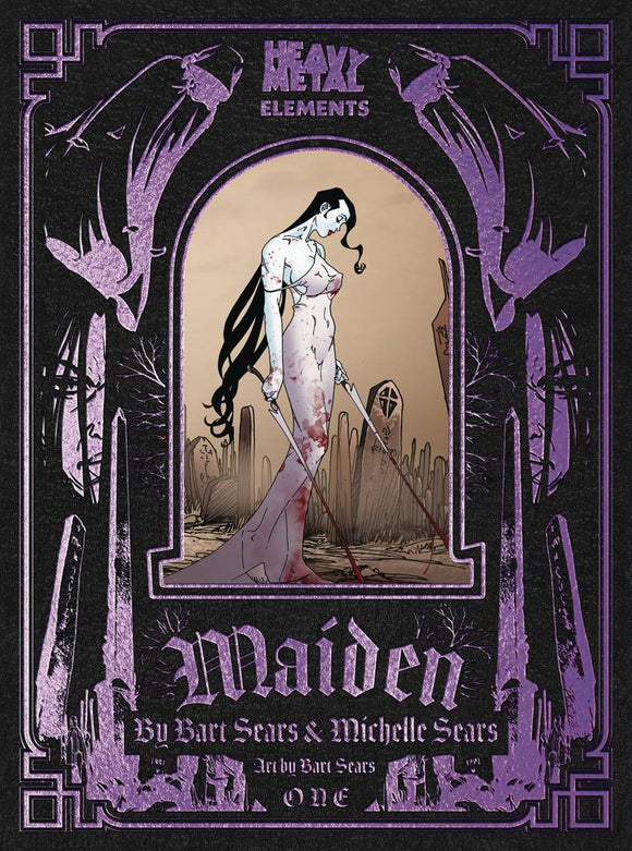 MAIDEN #1 (OF 8) (MR) - HEAVY METAL MAGAZINE - Black Cape Comic