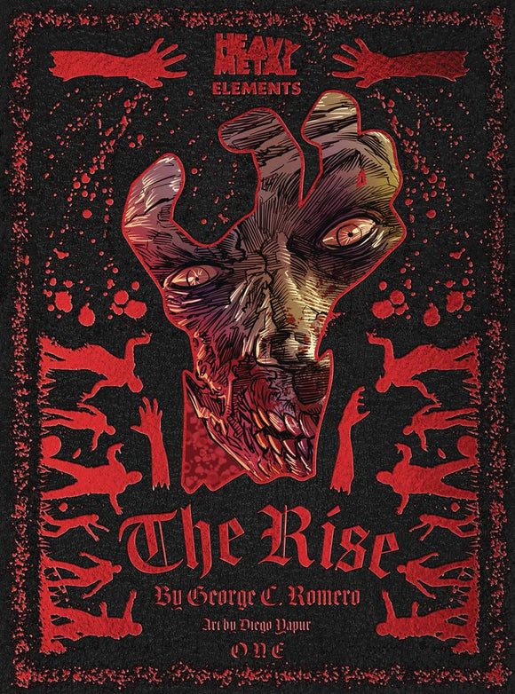 THE RISE #1 (OF 6) - HEAVY METAL MAGAZINE - Black Cape Comic
