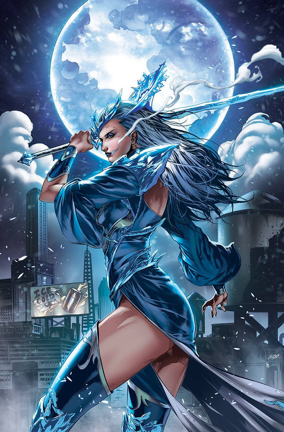 BELLE DEAD OF WINTER ONE SHOT CVR B WHITE - ZENESCOPE ENTERTAINMENT INC - Black Cape Comic