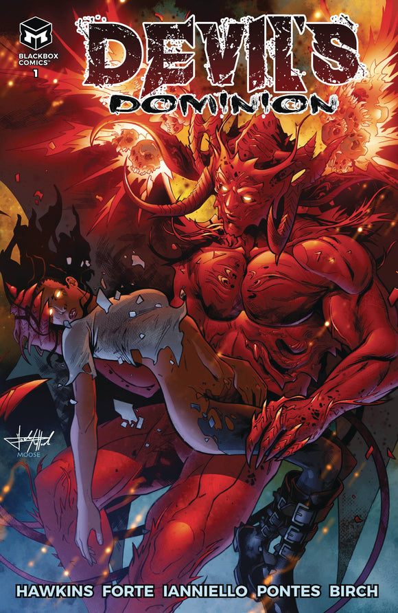 DEVILS DOMINION #1 CVR A (MR) - BLACKBOX COMICS - Black Cape Comic