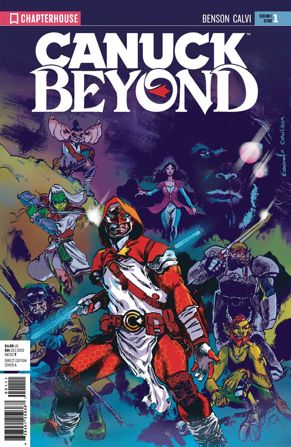 CANUCK BEYOND #1 - LEV GLEASON - Black Cape Comic