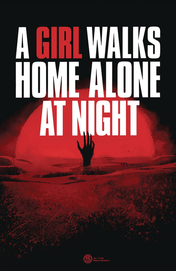 A GIRL WALKS HOME ALONE AT NIGHT #2 CVR A DEWEESE - BEHEMOTH COMICS - Black Cape Comic
