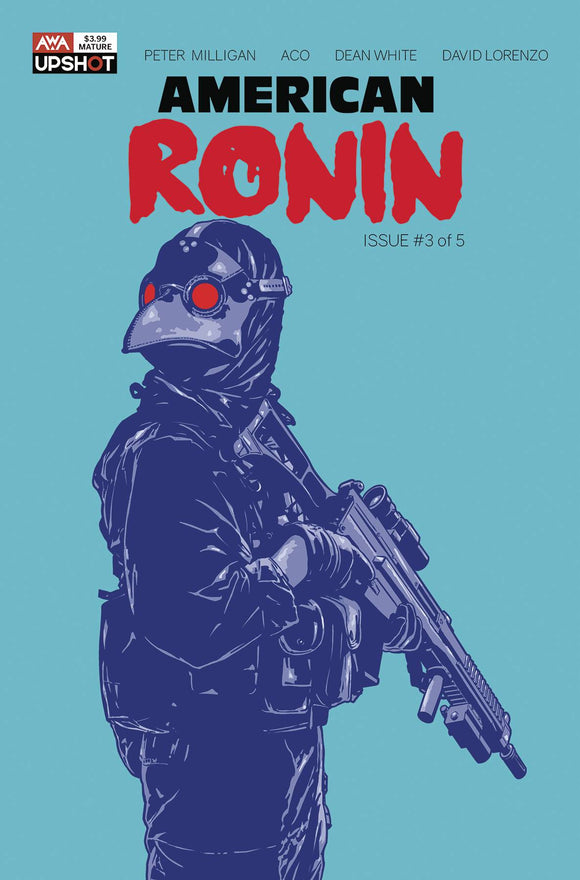 AMERICAN RONIN #3 (OF 5) (MR) - ARTISTS WRITERS & ARTISANS INC - Black Cape Comic