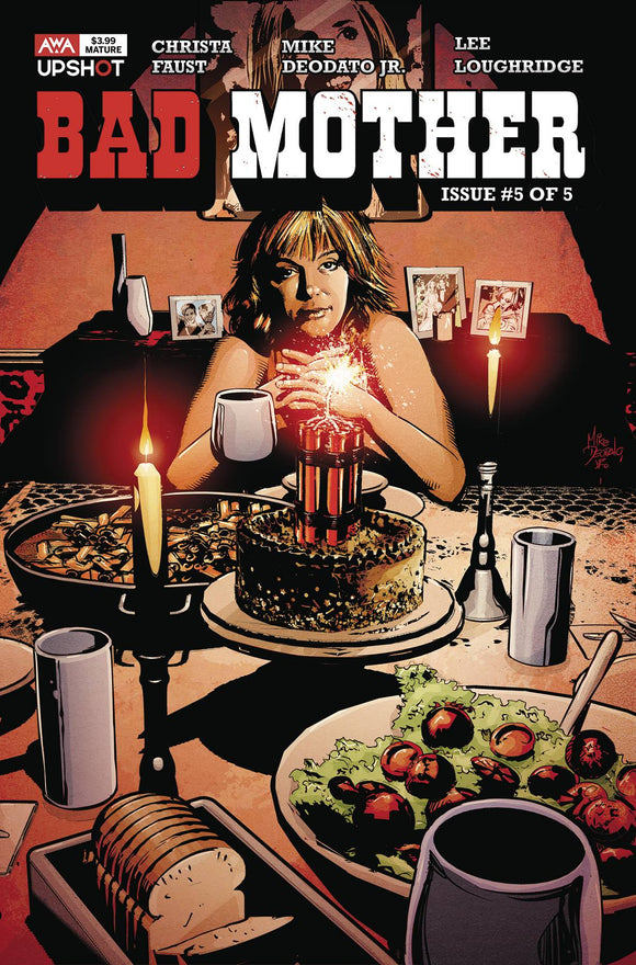 BAD MOTHER #5 (OF 5) (MR) - ARTISTS WRITERS & ARTISANS INC - Black Cape Comic