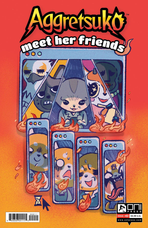 AGGRETSUKO MEET HER FRIENDS #2 CVR A DAGUNA - ONI PRESS INC. - Black Cape Comic