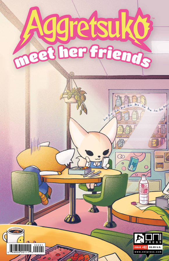 AGGRETSUKO MEET HER FRIENDS #2 CVR B - ONI PRESS INC. - Black Cape Comic