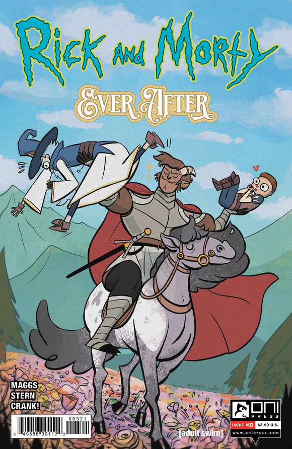 RICK & MORTY EVER AFTER #3 CVR B HELEN - ONI PRESS INC. - Black Cape Comic