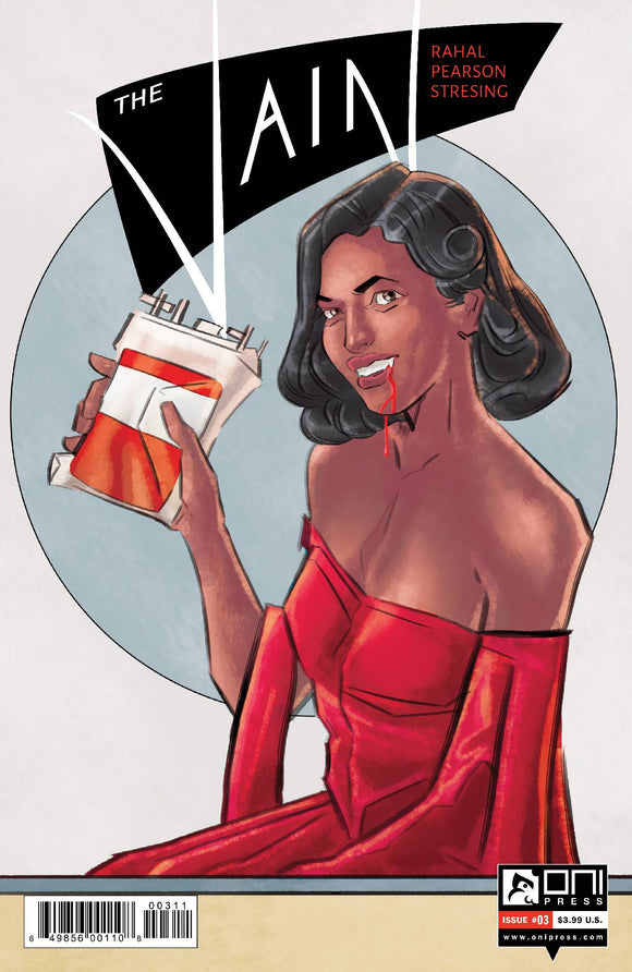 VAIN #3 - ONI PRESS INC. - Black Cape Comic