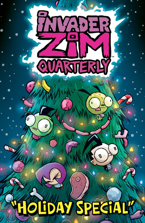 INVADER ZIM QUARTERLY HOLIDAY SPECIAL #1 CVR B WUCINICH - ONI PRESS INC. - Black Cape Comic