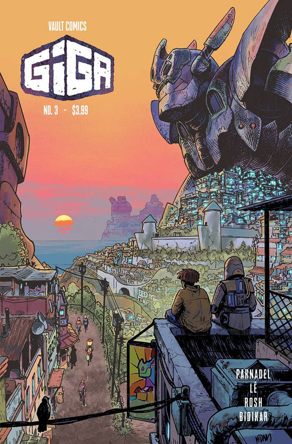 GIGA #3 CVR B GORHAM - VAULT COMICS - Black Cape Comic