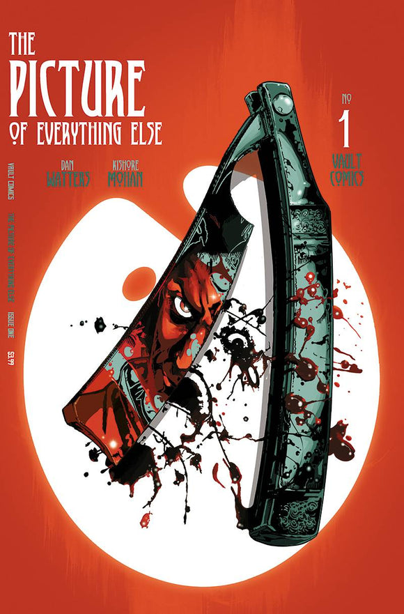 PICTURE OF EVERYTHING ELSE #1 CVR B GOODEN DANIEL - VAULT COMICS - Black Cape Comic