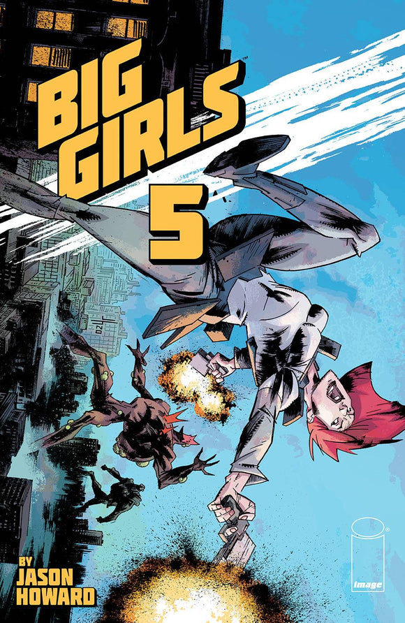 BIG GIRLS #5 - IMAGE COMICS - Black Cape Comic