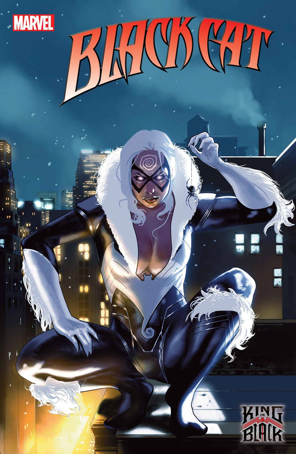 BLACK CAT #1 CLARKE KNULLIFIED VAR KIB - MARVEL COMICS - Black Cape Comic