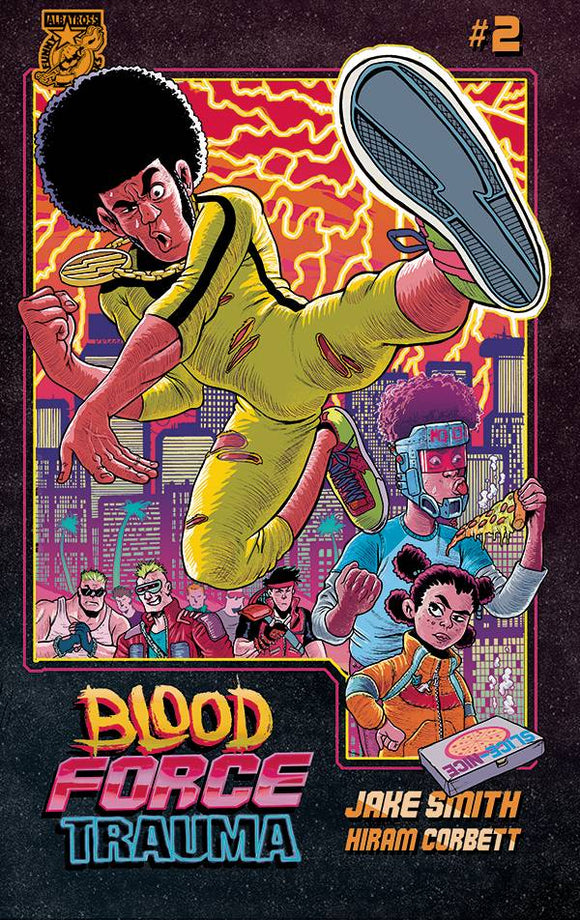 BLOOD FORCE TRAUMA #2 - Black Cape Comics