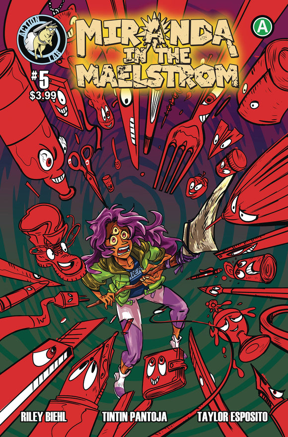 MIRANDA IN MAELSTROM #5 - Black Cape Comics