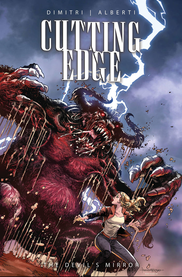 CUTTING EDGE DEVILS MIRROR #1 (OF 2) CVR A TOLIBAO (MR) - Black Cape Comics