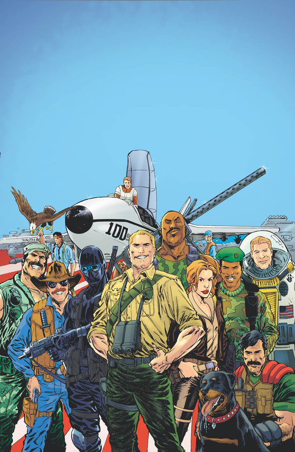 GI JOE A REAL AMERICAN HERO YEARBOOK #1 - Black Cape Comics