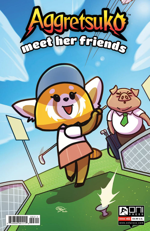 AGGRETSUKO MEET HER FRIENDS #3 CVR A HUANG - Black Cape Comics