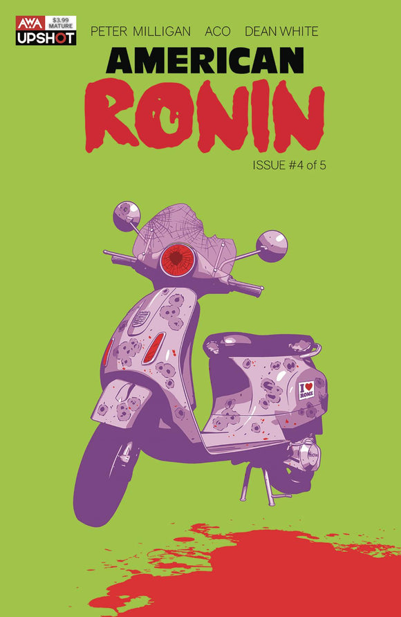 AMERICAN RONIN #4 (OF 5) (MR) - Black Cape Comics