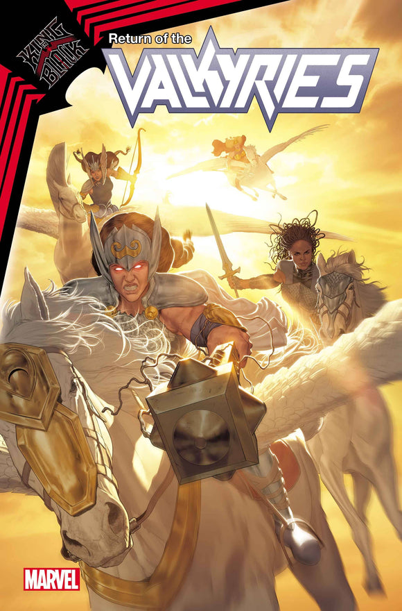 KING IN BLACK RETURN OF VALKYRIES #1 (OF 4) - Black Cape Comics