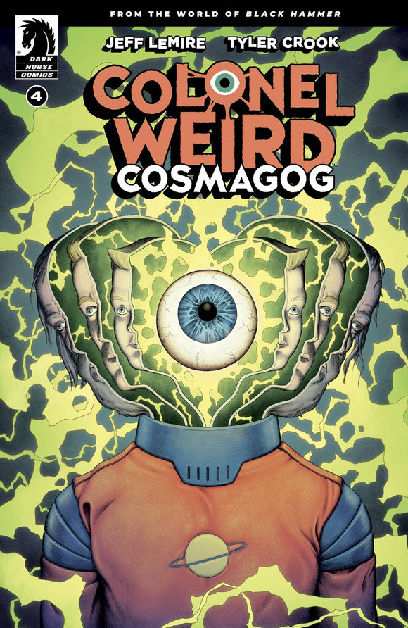 COLONEL WEIRD COSMAGOG #4 (OF 4) CVR B WARD - Black Cape Comics