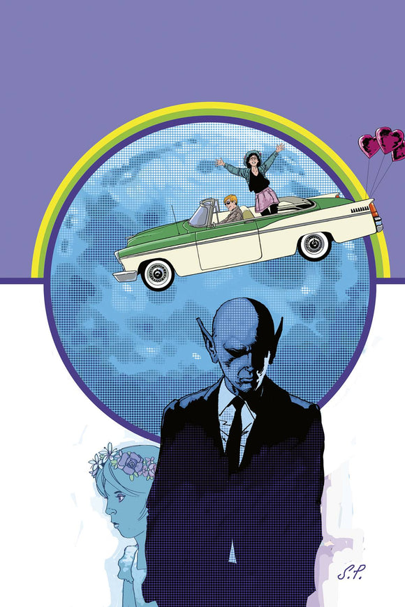 RESIDENT ALIEN YOUR RIDES HERE #3 - Black Cape Comics