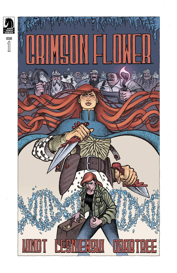 CRIMSON FLOWER #1 CVR A LESNIEWSKI - Black Cape Comics