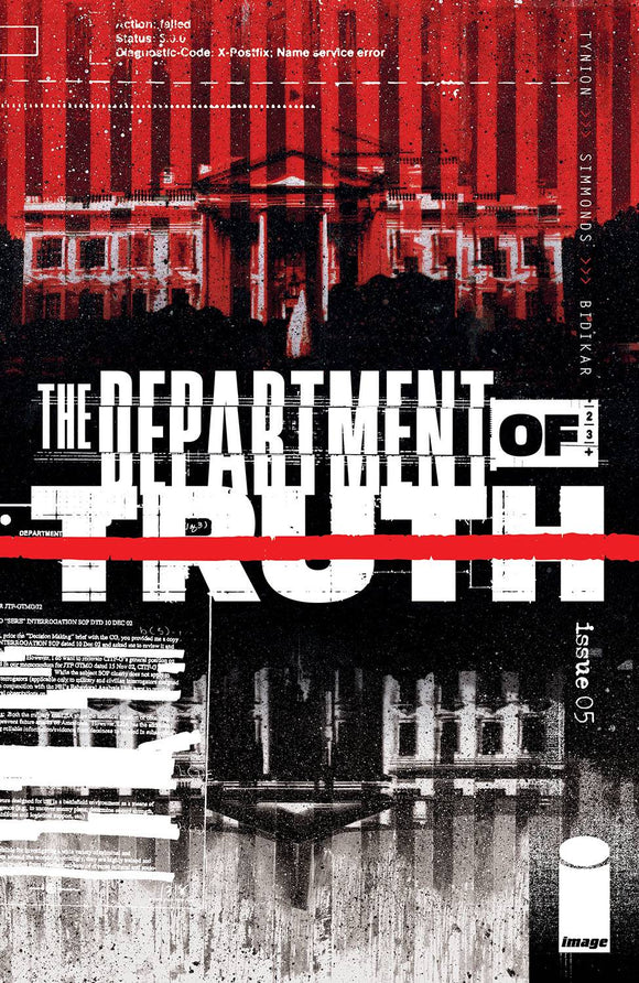 DEPARTMENT OF TRUTH #5 CVR A SIMMONDS (MR) - Black Cape Comics