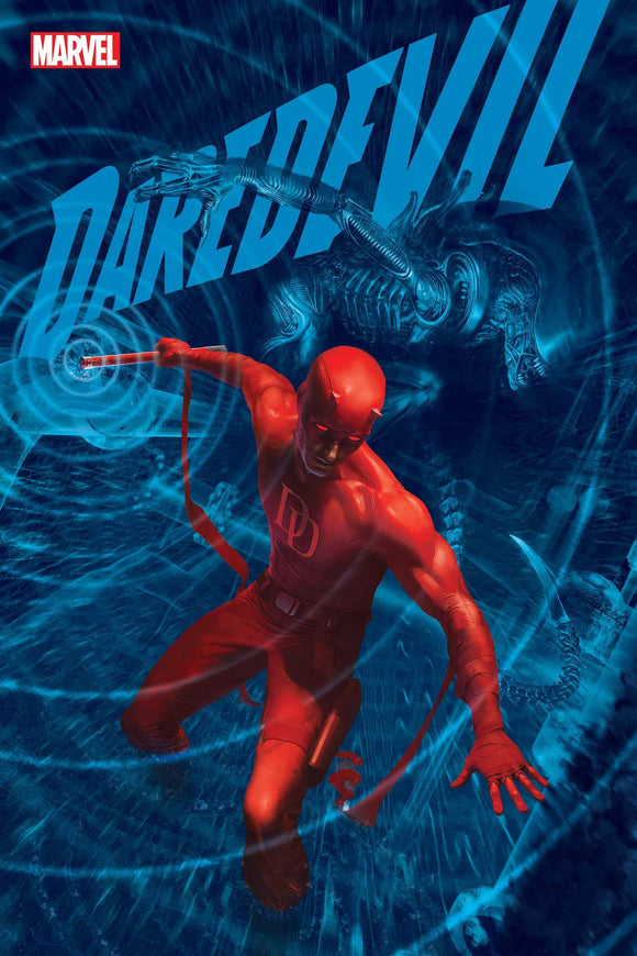 DAREDEVIL #26 RAHZZAH MARVEL VS ALIEN VAR KIB - Black Cape Comics