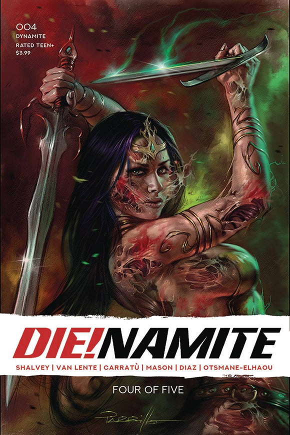 DIE!NAMITE #4 CVR A PARRILLO - Black Cape Comics