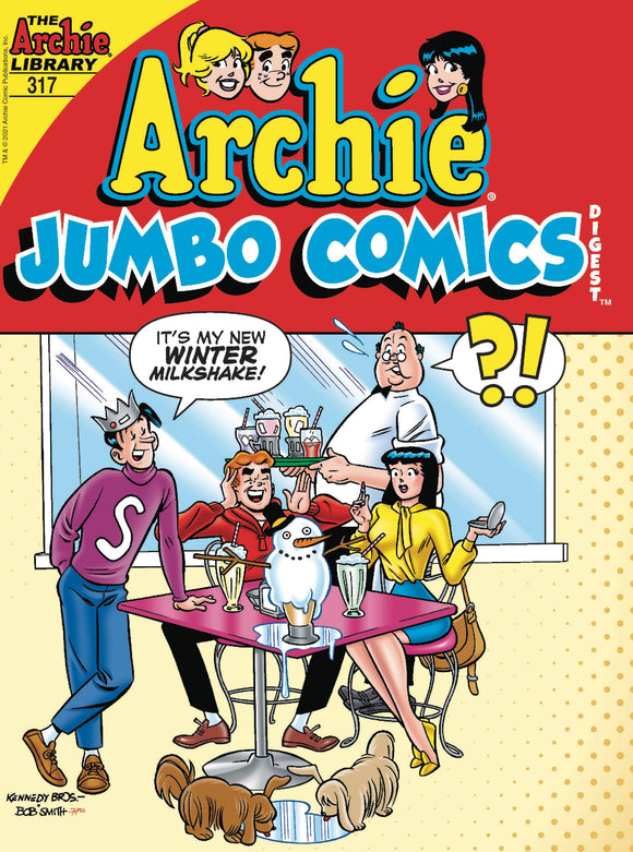ARCHIE JUMBO COMICS DIGEST #317 - Black Cape Comics