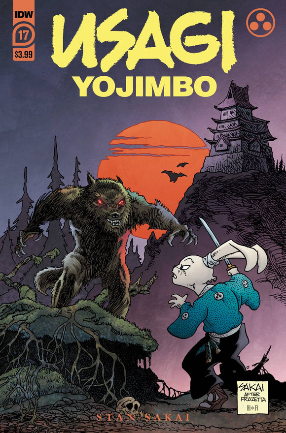 USAGI YOJIMBO #17 - Black Cape Comics